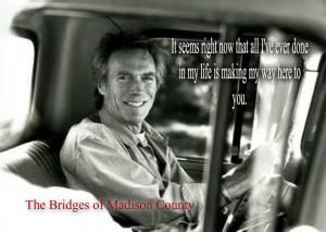 Madison County: Madison County Bridges, Celebrities Movies Mus, County ...