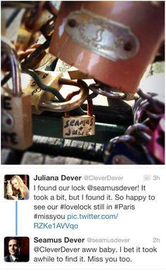Seamus and Juliana Dever ladies and gentlemen... castl stuff ...