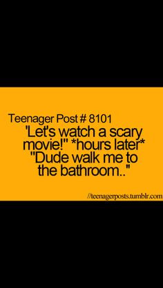 love scary movies but this quote is so me !!!!