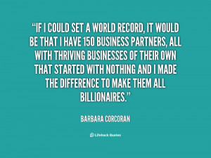 Barbara Corcoran Quotes