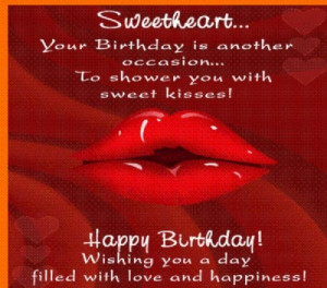 Happy Birthday To The Love Of My Life Sayings Happy birthday to you ...