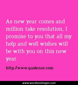 Famous Quotes New Year