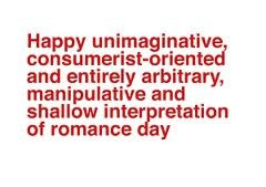 sarcastic valentines day quotes - Google Search