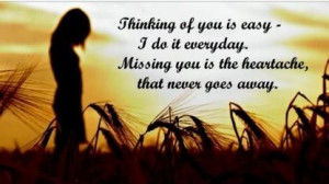 think of you quotes
