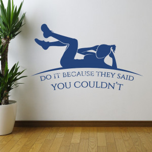 Hot-Fitness-Motivation-Quote-Wall-Art-Sticker-Decal-DIY-Home ...