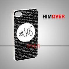 5SOS Quote Black Design - iPhone 4/4s/5/5s/5c Case - Samsung Galaxy s2 ...