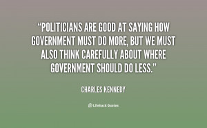Funny Quotes About Politicians