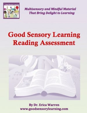 The Good Sensory Learning Reading Assessment offers reading ...