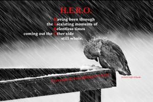 Anda yang melewati segala tantangan,kesulitan dan penderitaan ...