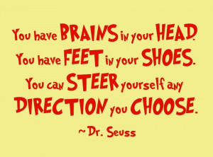 Dr Seuss Inspirational Quotes for Students