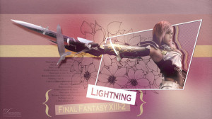 Lightning FF XIII-2 Wallpaper by demeters