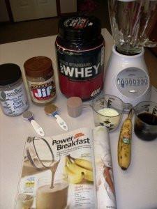 Oxygen Magazine Power Breakfast Protein Shake