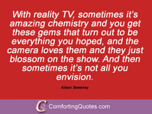 26 Quotations By Alison Sweeney