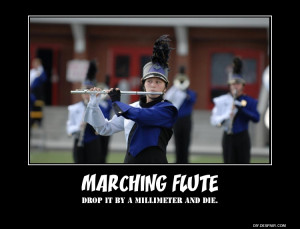 Marching Flute by ExplodingBonBon