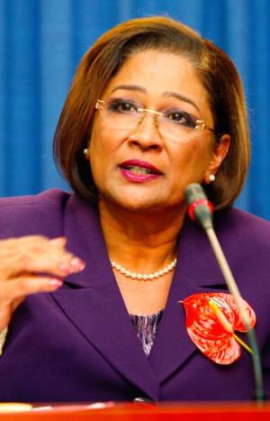 Trinidad and Tobago: Kamla Persad-Bissessar