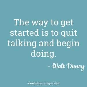 Inspiring quote #1 : Walt Disney