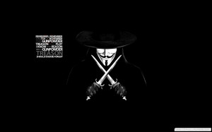 Quotes Masks Guy Fawkes V For Vendetta Anonymous 1440×900 Wallpaper