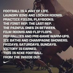 ... Football Quotes, Football Forever, Football Care, Nike Quotes Soccer