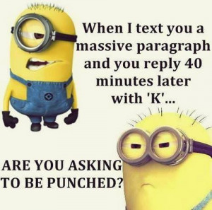 Best new funny Despicable Me minions quotes 032