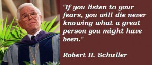 Robert h schuller famous quotes 3