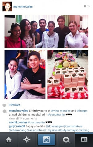 Images courtesy of Instagram: vina_morales and monchnovales