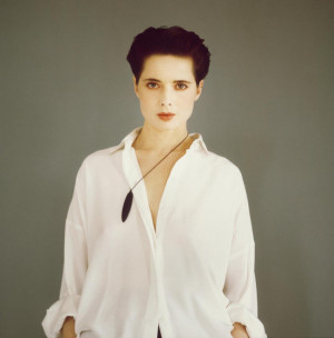 rossellini isabella rossellini the italian actress and model daughter ...