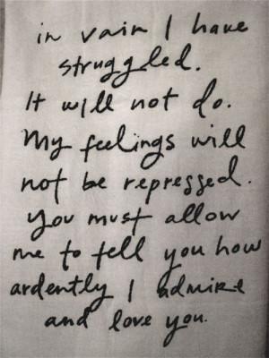 Mr. Darcy-- best part