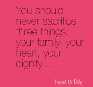 family quotes, sayings, sacrifice