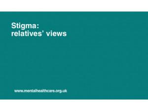 Mental Illness Stigma Quotes