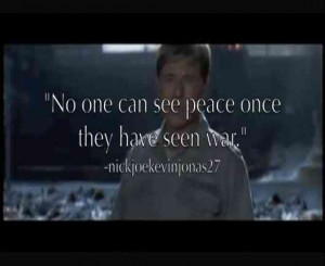 War Movies quote #1