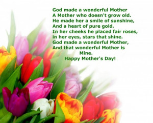 Mothers Day Quotes Happy Mothers Day Quotes With Images In Heaven ...