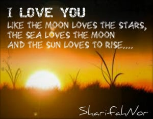 Go Back > Gallery For > Moon And Sun Love Quotes
