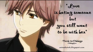 ANIME: TOP 10 LOVE QUOTES