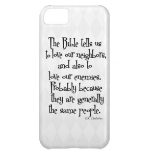 Funny Christian Religious Quote Chesterton Iphone Covers