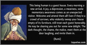 Depression Awareness Quotes More rumi quotes