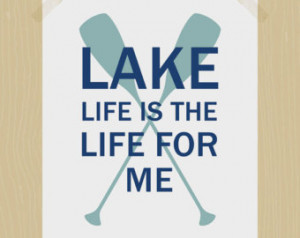 is the Life for Me Lake Art 8 x 10 Cabin Art Rustic Life Water Quote ...