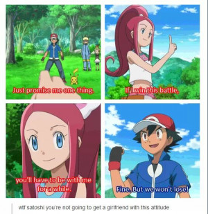Ash Ketchum Is All About Acquiring Pokemon Not Girlfriends