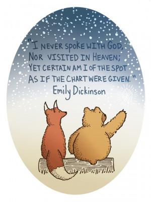 Emily Dickinson Quote...