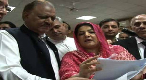 ... Mamnoon Hussain reached the Islamabad High Court (IHC) to submit his