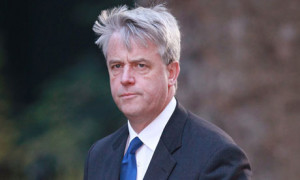 Andrew Lansley was accused of having his fingerprints on a piece of