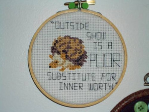 Hedgehog Hoopla with Aesop's Fable Quote
