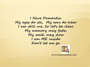Poems and Quotes About Dementia