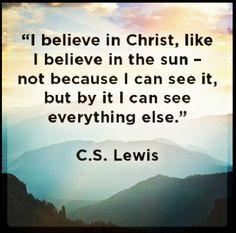 CS Lewis. Senior quote???