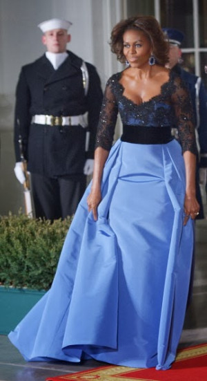 Michelle Obama Looks Really