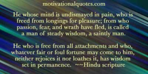Quotes From Hindu Scripture