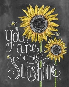 ... sunflowers sunshine bees chalkboard more sunflowers quotes chalkboards