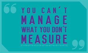 What Can You Measure You Improve