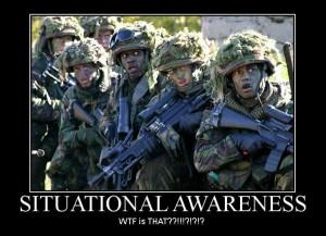 Tags: Awareness , Situational , soldiers