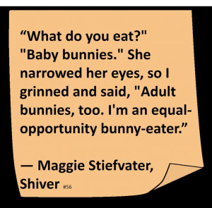 Maggie Stiefvater ♥ ~ #Quote #Author #Funny