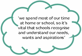 ... ; including, mental ill health within the wider school curriculum